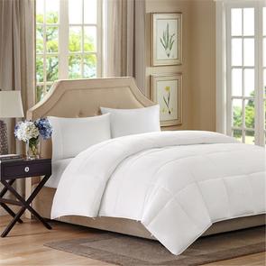 Sleep Philosophy Benton King/California King All Season 2 in 1 Down Alternative Comforter in White by JLA Home