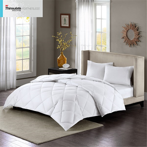 Sleep Philosophy Maximum Warmth Full/Queen Cotton Sateen White Down Alternative 3M Thinsulate Comforter in White by JLA Home