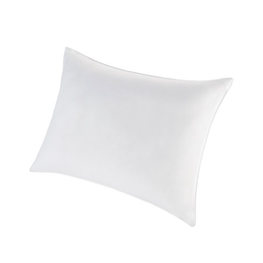 Sleep Philosophy Smart Cool Microfiber Standard/Queen Hypoallergenic Sleeping Pillow Satin Piping in White by JLA Home