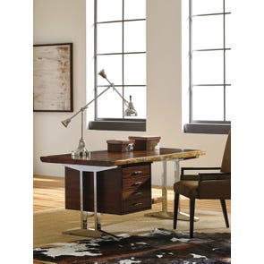 Sligh Studio Designs LaCosta Live Edge Writing Desk