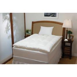 Soft Tex Memoryloft Classic Memory Foam And Fiber Bed 2 5