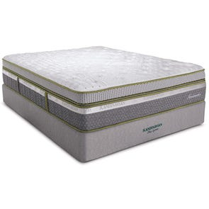 King Southerland Scandinavian Sandmahn Plush Box Top Mattress