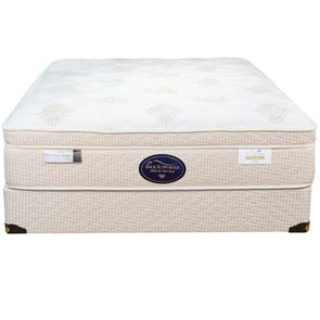 Queen Spring Air Back Supporter Perfect Balance Alexis Euro Top 14.5 Inch Mattress