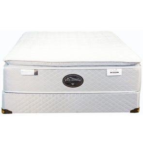 Queen Spring Air Back Supporter Four Seasons Athena Plush Pillowtop 16 Inch Mattress