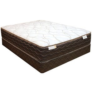 Queen Spring Air Back Supporter Saint Pierre Plush 14 Inch Mattress