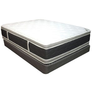 King Spring Air Four Seasons Back Supporter Summer Nights Double Sided Plush Euro Top 14 Inch Mattress