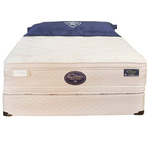 Queen Spring Air Hotel & Suites Collection VIP Grand Estate Double Sided Euro Top Mattress
