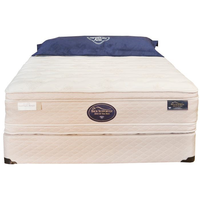 Full Spring Air Hotel & Suites Collection VIP Grand Estate Euro Top Euro  Top Mattress