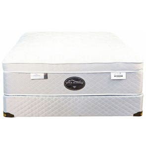 Queen Spring Air Back Supporter Four Seasons Paradise Plush Eurotop 18 Inch Mattress