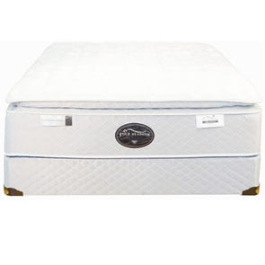 Full Spring Air Back Supporter Four Seasons Premiere Plush Pillowtop Mattress