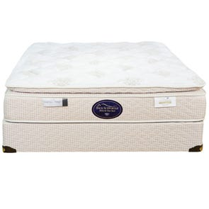 Queen Spring Air Back Supporter Perfect Balance Savannah Pillow Top Mattress