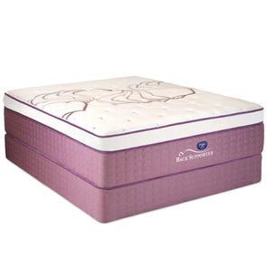 Queen Spring Air Sleep Sense Hybrid Plus Level V Luxury Plush Euro Top Mattress