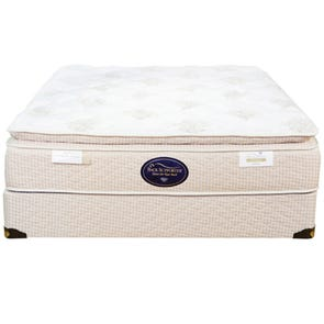 Twin Spring Air Back Supporter Perfect Balance Sophia Pillow Top Mattress