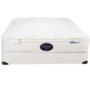 Queen Spring Air Back Supporter Value Wilshire Euro Top 12 Inch Mattress