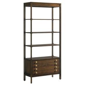 Stanley Crestaire Welton Bookcase in Porter
