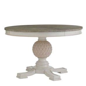 Stanley Preserve Artichoke Pedestal Dining Table