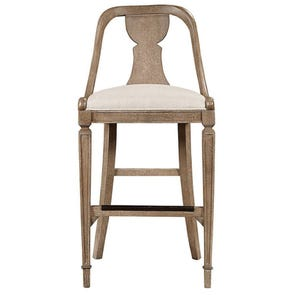 Stanley Wethersfield Estate Barstool in Brimfield Oak Finish