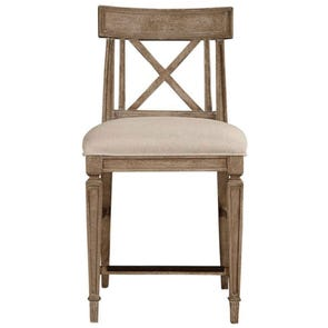 Stanley Wethersfield Estate Counter Stool in Brimfield Oak Finish