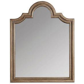 Stanley Transitional Landscape Mirror in Estonian Grey Finish