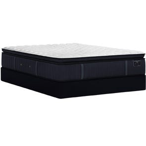 Cal King Stearns and Foster Estate Hurston Luxury Plush Euro Pillow Top 14.5 Inch Mattress + FREE $200 Visa Gift Card