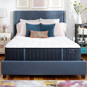 Queen Stearns and Foster Estate Rockwell Luxury Ultra Firm 13.5 Inch Mattress + FREE $100 Gift Card