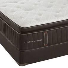 Queen Stearns & Foster Lux Estate Eileen Leigh Luxury Plush Euro Pillow Top 16.5 Inch Mattress SDML111914 - Scratch and Dent Model ''As-Is''