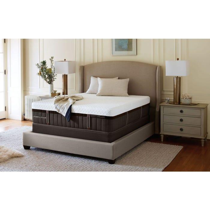 King Stearns Foster Lux Estate Hybrid Kenna Rose Luxury Cushion