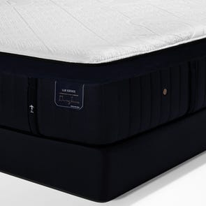 King Stearns and Foster Lux Estate Hybrid Pollock Luxury Cushion Firm 15 Inch Mattress + FREE $200 Visa Gift Card