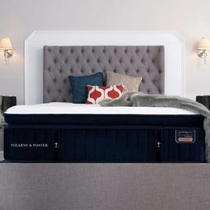 Queen Stearns and Foster Reserve Hepburn Luxury Plush Euro Pillow Top 16 Inch Mattress + FREE $200 Visa Gift Card