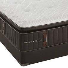 Full Stearns & Foster Reserve No. 2 Luxury Plush Euro Pillow Top Mattress + FREE $200 Visa Gift Card