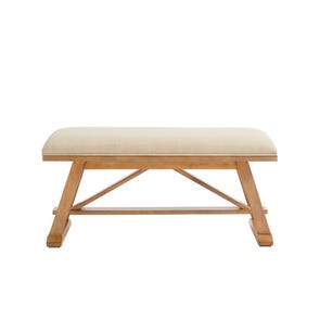 Stone & Leigh Chelsea Square Bed End Bench in French Toast