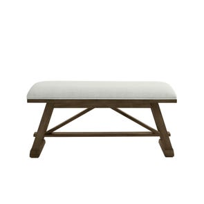 Stone & Leigh Chelsea Square Bed End Bench in Raisin