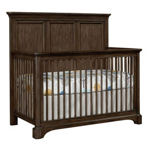 Stone & Leigh Chelsea Square Built To Grow Crib in Raisin