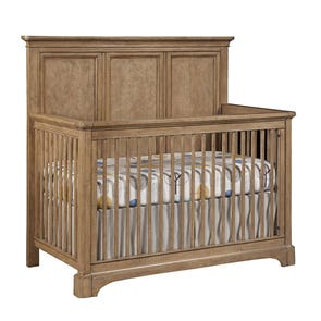 Stone & Leigh Chelsea Square Built To Grow Crib in French Toast