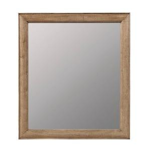Stone & Leigh Chelsea Square Mirror in Raisin