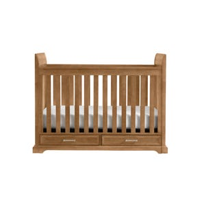 Stone & Leigh Chelsea Square Stationary Crib in French Toast