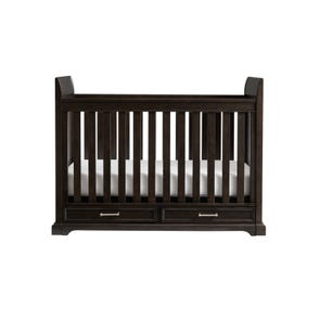 Stone & Leigh Chelsea Square Stationary Crib in Raisin