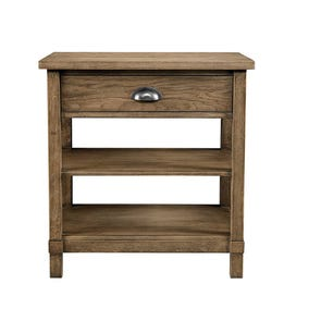 Stone & Leigh Driftwood Park Bedside Table in Sunflower Seed