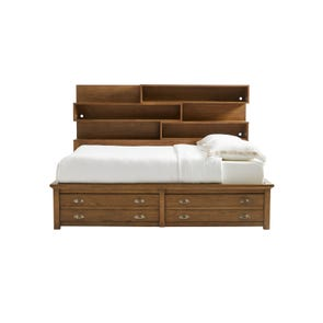 Stone & Leigh Driftwood Park Full Storage Bed in Sunflower Seed