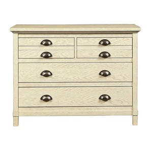 Stone & Leigh Driftwood Park Single Dresser in Vanilla Oak