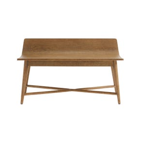 Stone & Leigh Driftwood Park Storage Bed End Bench in Sunflower Seed