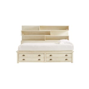 Stone & Leigh Driftwood Park Twin Storage Bed in Vanilla Oak