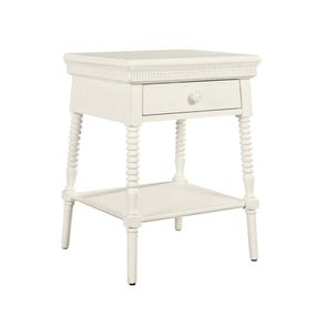 Stone & Leigh Smiling Hill Bedside Table in Marshmallow