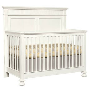 Stone & Leigh Smiling Hill Built To Grow Crib in Marshmallow