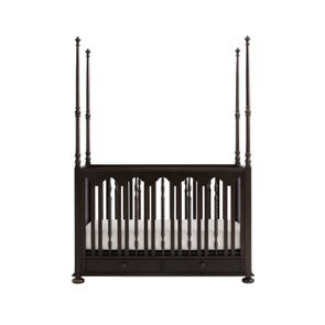 Stone & Leigh Smiling Hill Stationary Poster Crib in Licorice