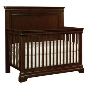 Stone & Leigh Teaberry Lane Built To Grow Crib in Midnight Cherry