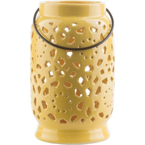 Surya Avery 9.4 Inch Lantern in Black