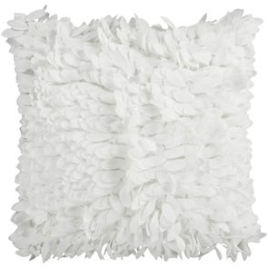 Surya Ruffle and Frill in Ivory Accent Pillow
