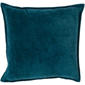 Surya Smooth Velvet in Teal Accent Pillow