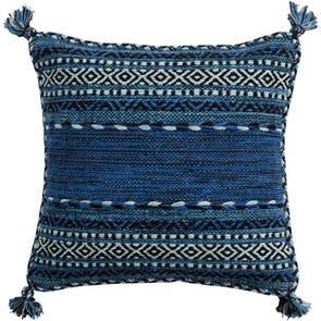 Surya Trenza in Cobalt Accent Pillow